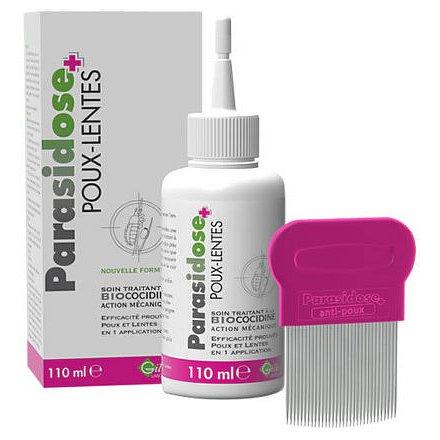Parasidose přírodní odvšiv. s Biococidinem 110 ml