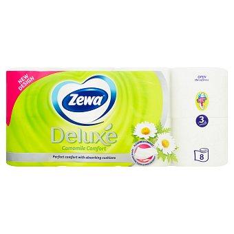 Zewa Deluxe Camomile Comfort toaletní papír 3-vrstvý 8 ks/bal.