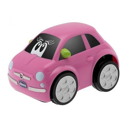 Autíčko Turbo Touch - FIAT 500 Růžová