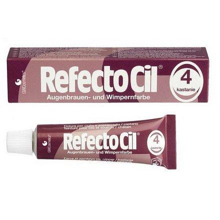 Barva na řasy a obočí Refectocil 15 ml - Odstín: 4 kaštanová