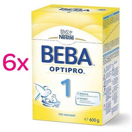NESTLÉ Beba 1 OPTIPRO 6x600g