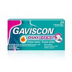 Gaviscon Duo Efekt žvýkací tablety 24 ks