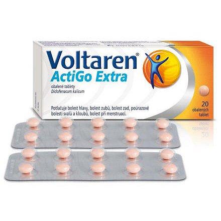 Voltaren Actigo Extra 25mg tabletky 20 ks