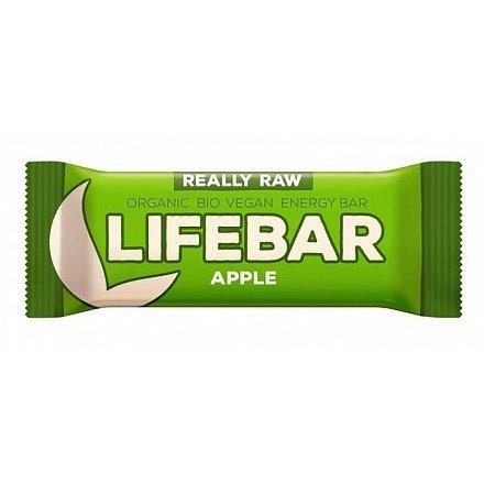 Lifebar tyčinka jablečná BIO 47 g Lifefood