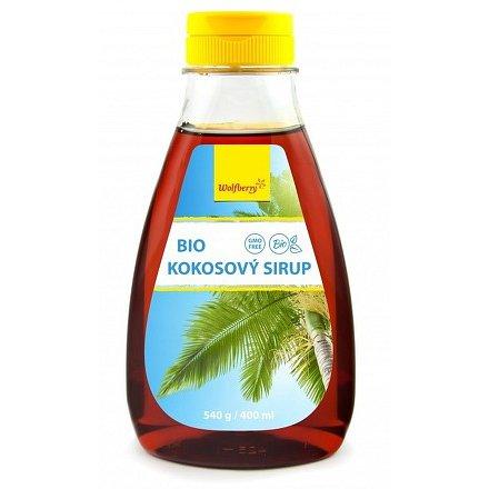 Kokosový sirup BIO 540 g/400 ml Wolfberry*
