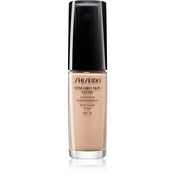 Shiseido Makeup Synchro Skin Glow Luminizing Fluid Foundation rozjasňující make-up SPF 20 odstín Rose 2 30 ml