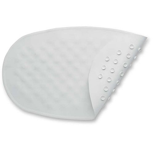 BABYDAN Protiskluzová podložka do vany ovál 42x25 cm, bílá