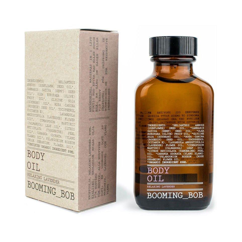 Booming Bob BIO Tělový olej Relaxing Lavender 89 ml