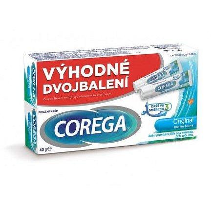 Corega Original extra silný DUOPACK 40g
