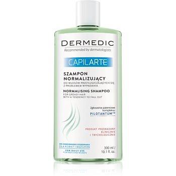 Dermedic Capilarte šampon na mastné vlasy proti vypadávání vlasů  300 ml