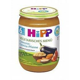 HiPP BABY BIO Kuskus se zeleninou 190g