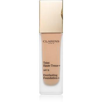 Clarins Face Make-Up Everlasting Foundation+ dlouhotrvající tekutý make-up SPF 15 odstín 112 Amber  30 ml