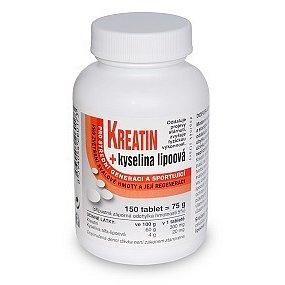 Kreatin + Kyselina lipoová tablety 150