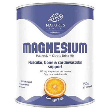 Nutrisslim Magnesium Citrate pomeranč 150g
