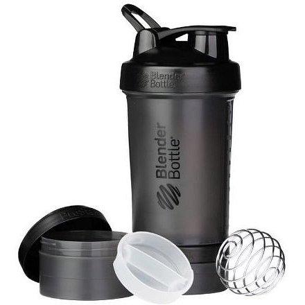 Blender Bottle Šejkr ProStak se zásobníkem 650ml Jméno: Šejkr ProStak se zásobníkem 650ml černý