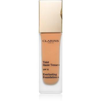 Clarins Face Make-Up Everlasting Foundation+ dlouhotrvající tekutý make-up SPF 15 odstín 117 Hazelnut  30 ml