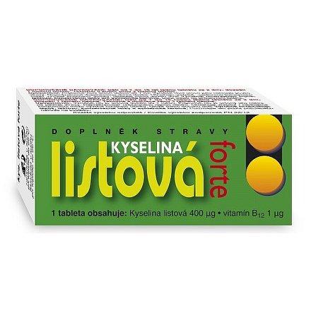 Kyselina listová Forte tablety 60 Naturvita