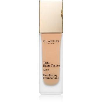 Clarins Face Make-Up Everlasting Foundation+ dlouhotrvající tekutý make-up SPF 15 odstín 112,5 Caramel  30 ml