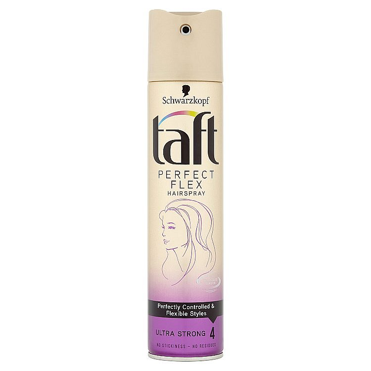 Taft Perfect Flex Lak na vlasy Ultra silná fixace 250 ml