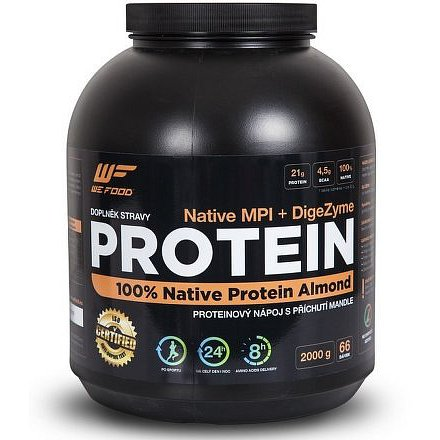 100% Native Protein + DigeZyme 2kg Mandle
