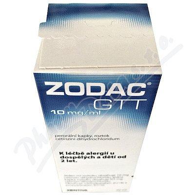 Zodac GTT 10 mg 20 ml