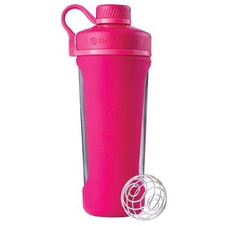 Blender Bottle Radian® Glass 820ml Jméno: Radian® Glass 820ml růžová