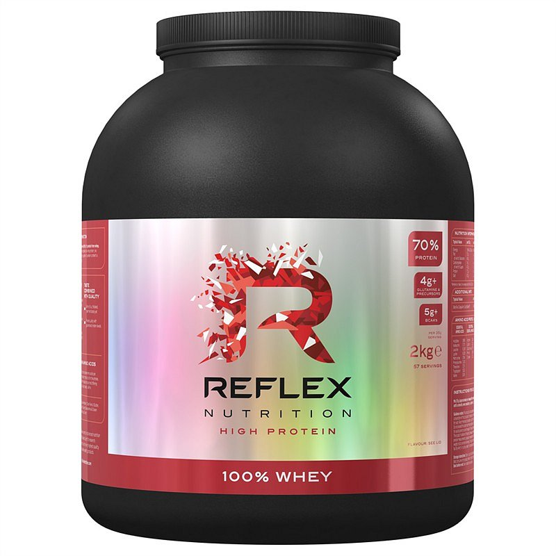 100% Whey Protein 2kg jahoda & malina