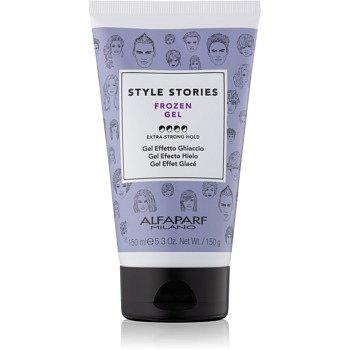 Alfaparf Milano Style Stories The Range Gel gel na vlasy s ledovým efektem extra silné zpevnění Frozen Gel 150 ml