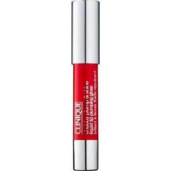 Clinique Chubby Plump & Shine hydratační lesk na rty odstín 02 Super Scarlet 3,9 g
