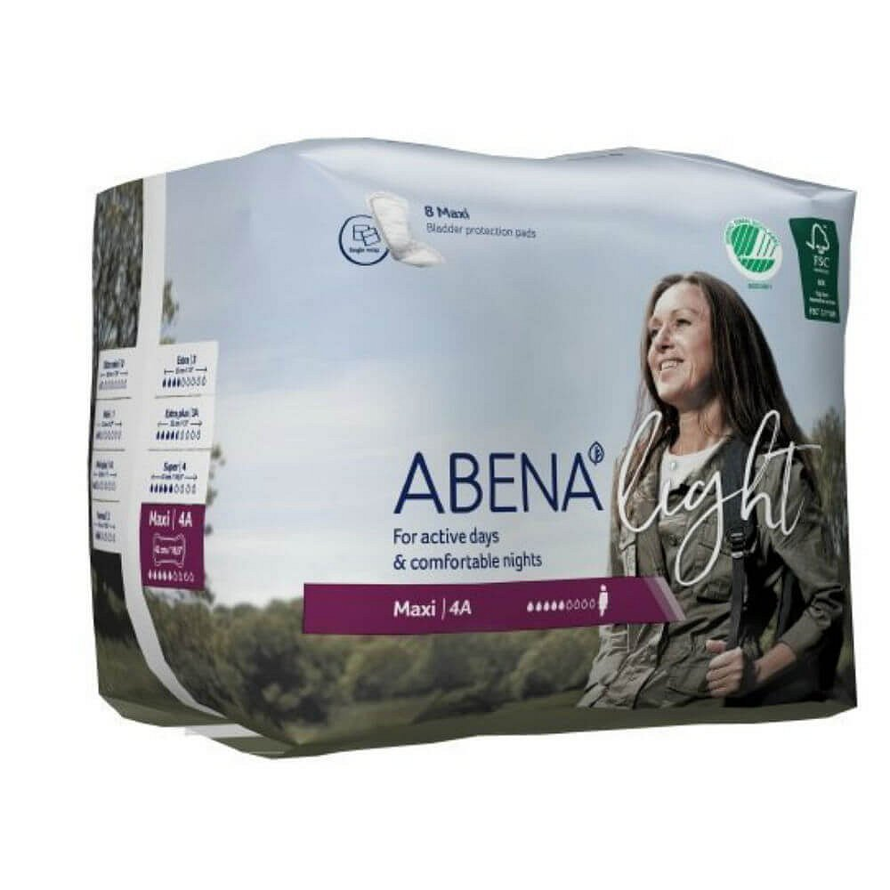ABENA Light Maxi 4 A Inkontinenční vložky 8 kusů