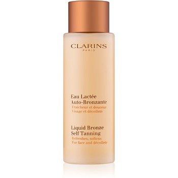 Clarins Sun Self-Tanners samoopalovací přípravek na obličej a dekolt  125 ml