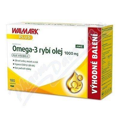 Walmark Omega-3 rybí olej 1000mg tob.180 - II.jakost