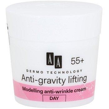 AA Cosmetics Dermo Technology Anti-Gravity Lifting modelační krém s protivráskovým účinkem 55+  50 ml