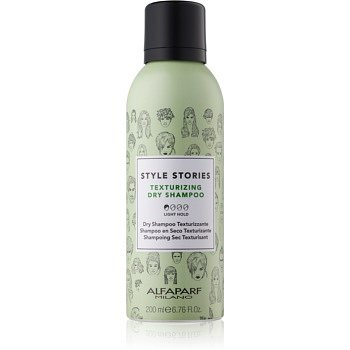 Alfaparf Milano Style Stories The Range Texturizing suchý šampon pro zvětšení objemu vlasů Texturizing Dry Shampoo 200 ml