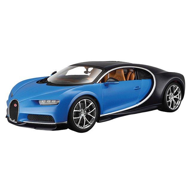 1:18 Bugatti Chiron Blue
