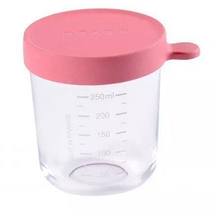 Beaba 250 ml Dóza na jedlo kvalitné sklo