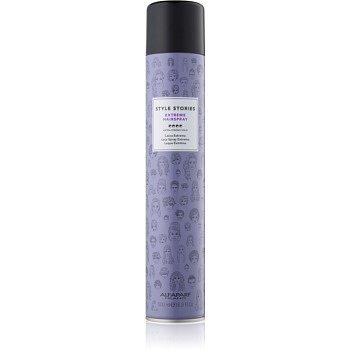 Alfaparf Milano Style Stories The Range Hairspray lak na vlasy s extra silnou fixací Extreme Hairspray 500 ml