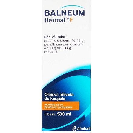 Balneum Hermal F tekutina 1 x 500 ml