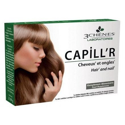 Les 3 Chênes Capill'R Vlasy a nehty 30 tablet