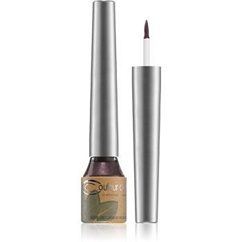 Couleur Caramel Eye Liner tekuté oční linky odstín č.02 - Plum 4 ml