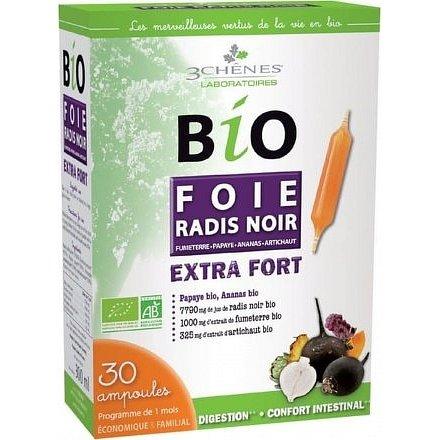 Les 3 Chênes BIO Černá ředkev 7790 mg 30 ampulí