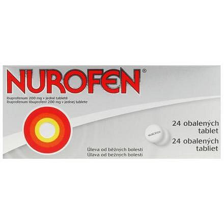 Nurofen 200 mg perorální tablety potažené 24 x 200 mg