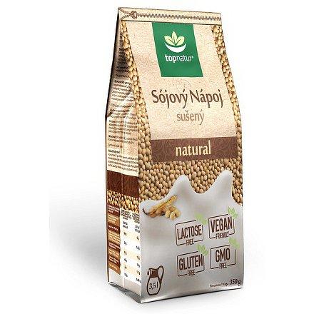 Sójový nápoj natural TOPNATUR 350 g