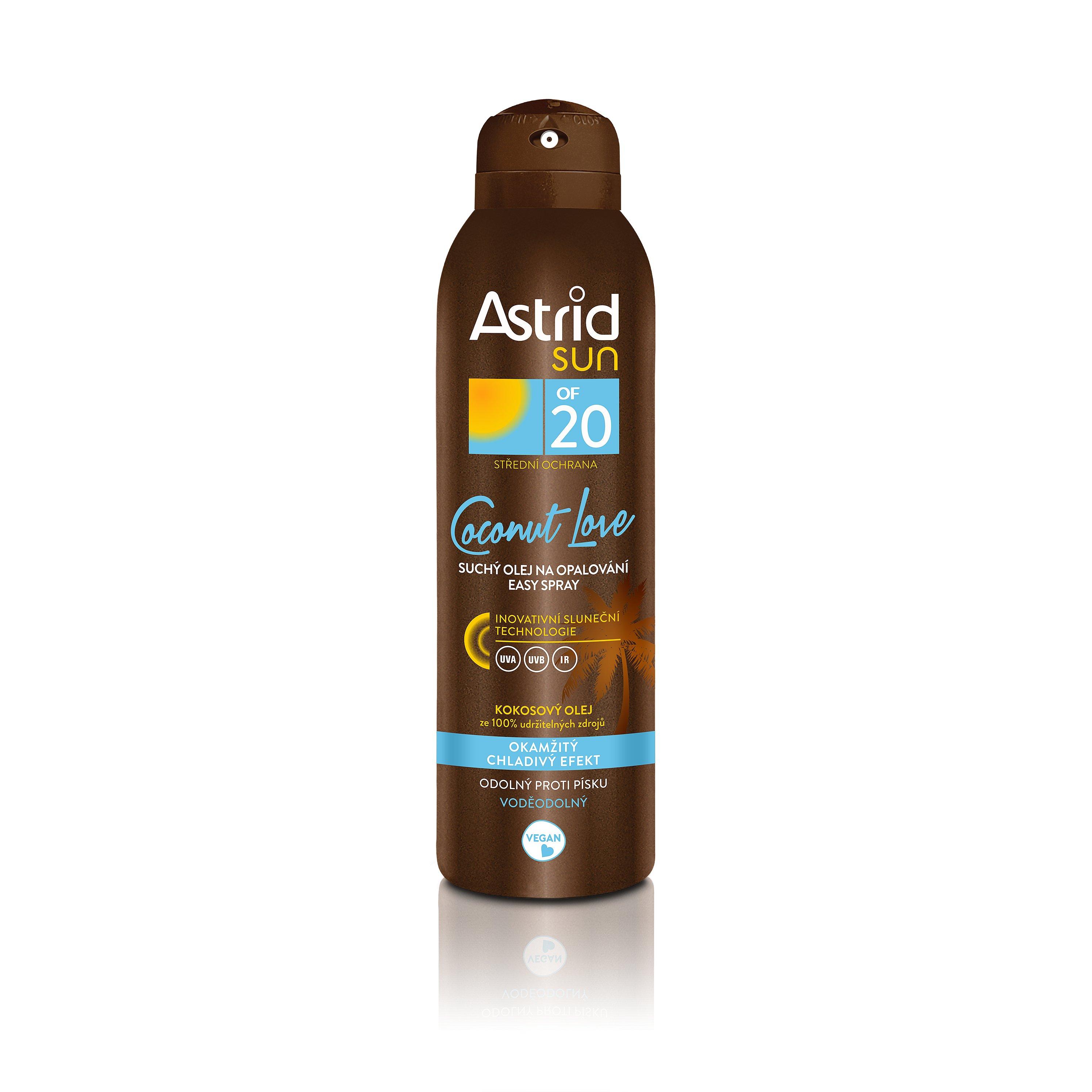 ASTRID SUN Suchý olej na opalování easy spray OF 20  150 ml