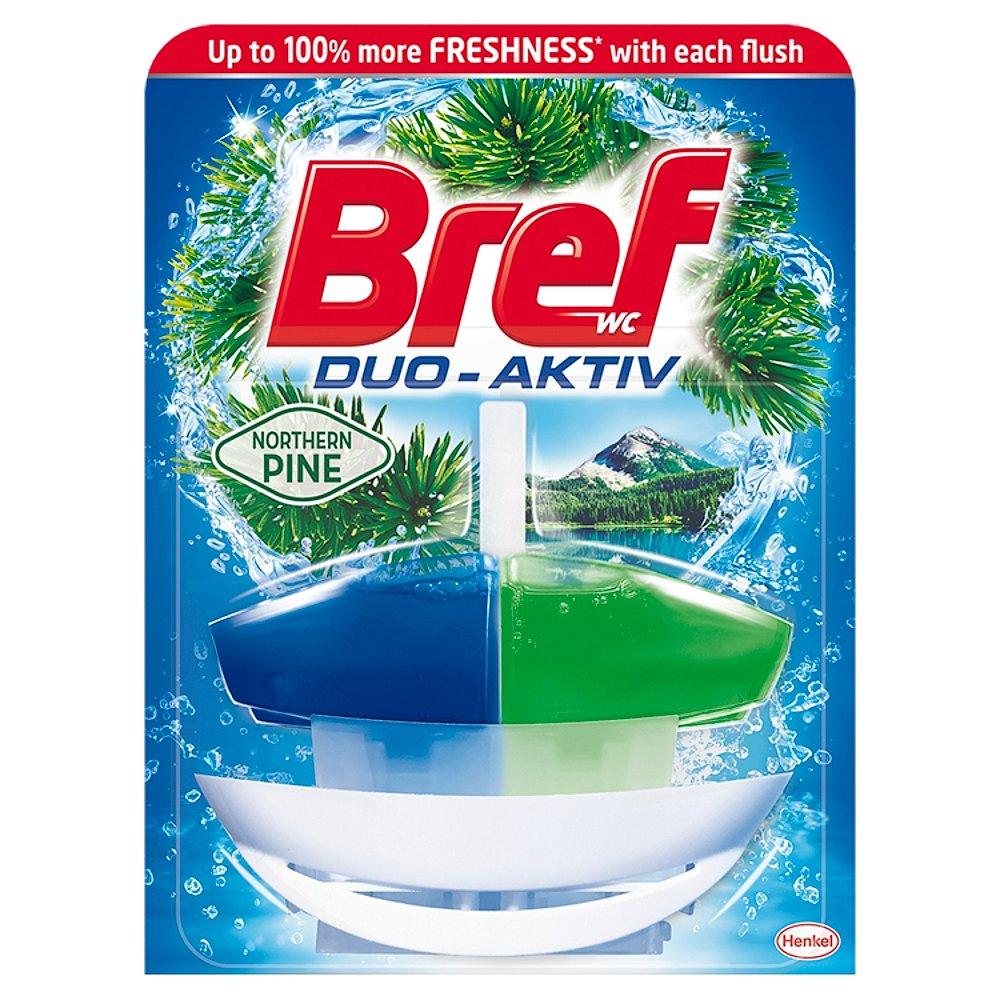 BREF Duo-Aktiv Northern Pine tekutý WC blok náhradní náplň 50 ml