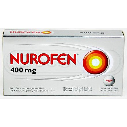 Nurofen 400mg tablety 24 ks