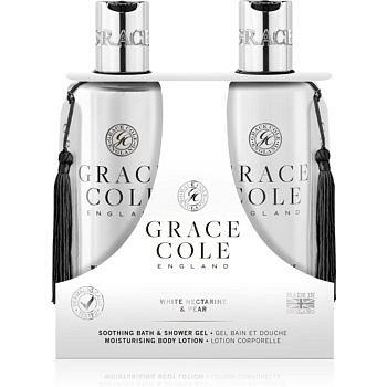 Grace Cole White Nectarine & Pear kosmetická sada I.