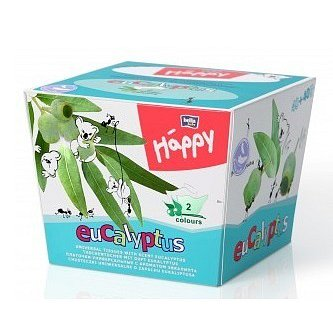 Happy dětské papírové kapesníčky 80ks - Eukalyptus