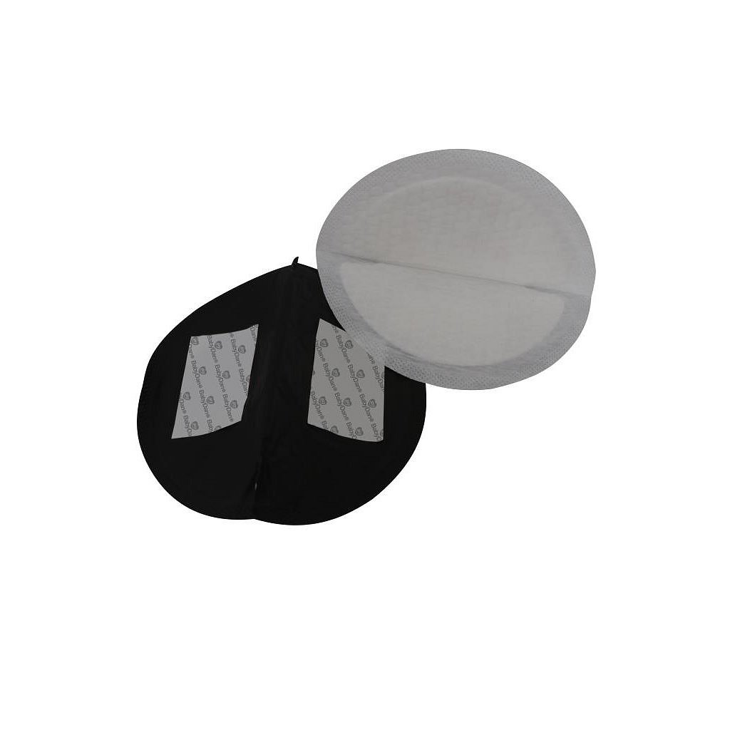BabyDan prsní tampóny ultra absorpční černé 24 kusů