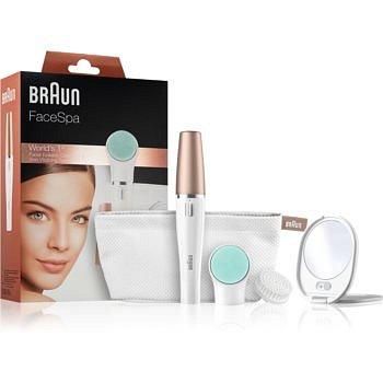 Braun Face  851V systém 3 v 1 pro epilaci obličeje, revitalizaci a tonizaci pleti